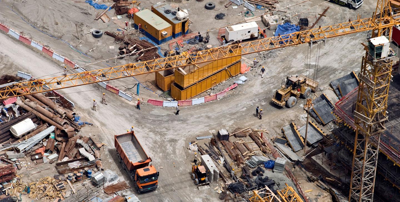 monitoring placu budowy